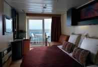 Esterna con balcone sul mare Concierge Class