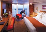 Club Suite Continentale con balcone sul mare