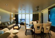 The Haven Deluxe Owner's Suite con gran balcone sul mare