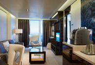 The Haven Owner's Suite con gran balcone sul mare