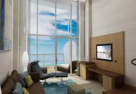 Crown Loft Suite con balcone sul mare