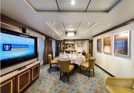 Presidential Family Suite con gran balcone e jacuzzi sul mare