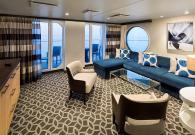 Royal Family Suite con gran balcone sul mare